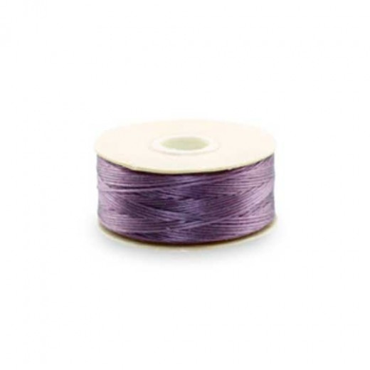 Lilac Nymo Beading Thread, Size D, 0.30 mm,