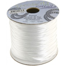 Rattail Cord 1.5mm White in 5m pack