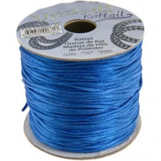 Rattail Cord 1.5mm Blue in 5m pack