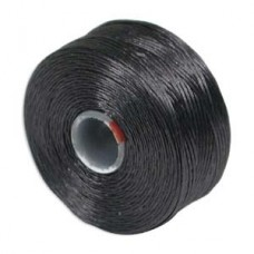 Charcoal Grey S-Lon D Tex 45 beading cord