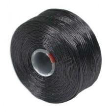 Charcoal Grey S-Lon D Tex 45 beading cord