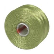 Chartreuse S-Lon D Tex 45 beading cord