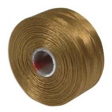 Gold S-Lon D Tex 45 beading cord