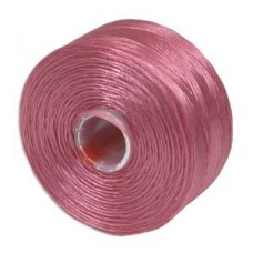 Light Orchid S-Lon D Tex 45 beading cord