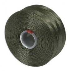Olive S-Lon D Tex 45 beading cord