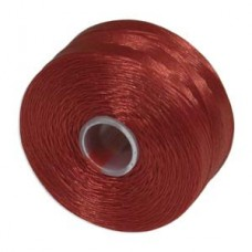 Red S-Lon D Tex 45 beading cord