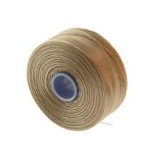 Beige S-Lon AA Bead weaving thread