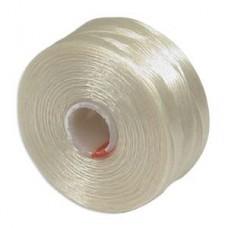 Cream S-Lon AA Bead weaving thread