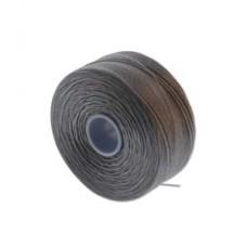 Grey  S-Lon AA Bead weaving thread