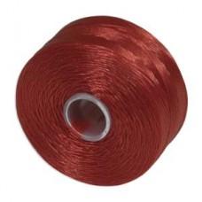 Red S-Lon AA Bead weaving thread