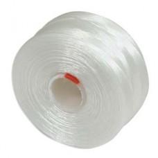 White S-Lon AA Bead weaving thread