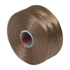 Light Copper S-Lon D Tex 45 beading cord