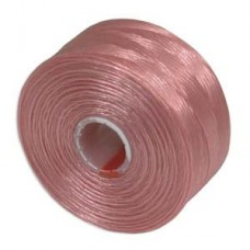 Pink S-Lon D Tex 45 beading cord