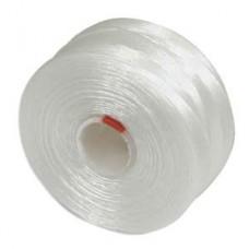 White S-Lon D Tex 45 beading cord