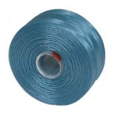 Turquoise Blue S-Lon D Tex 45 beading cord
