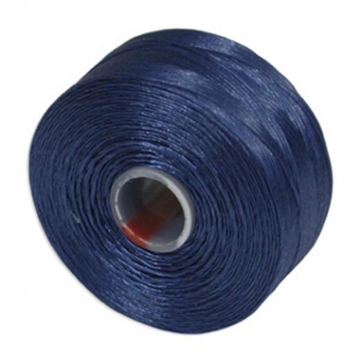 Capri Blue S-Lon D Tex 45 beading cord