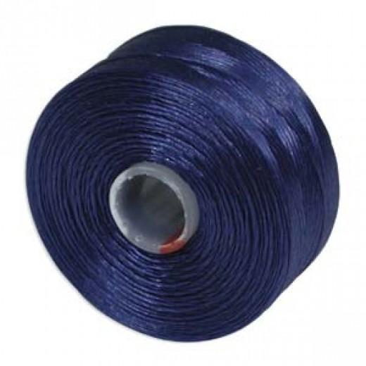 Royal Blue S-Lon D Tex 45 beading cord