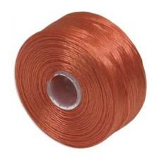 Orange S-Lon D Tex 45 beading cord