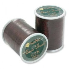 Red SoNo Beading Thread, 100m reel