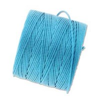 Bermuda Blue S-Lon 0.5mm Bead Cord on 77 yard Spool