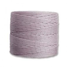 Lavender S-Lon 0.5mm Bead Cord on 77 yard Spool