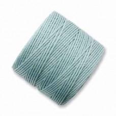 Turquoise S-Lon 0.5mm Bead Cord on 77 yard Spool