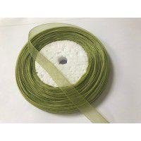 Elf Green Organza Ribbon, 50 Metres