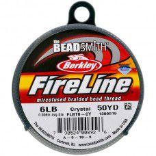 Fireline Thread, 6lb Crystal Clear 50yd 0.006