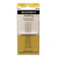 Size 10 English Beading Needles - longs