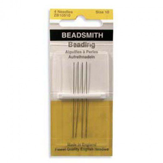 Size 10 English Beading Needles - longs