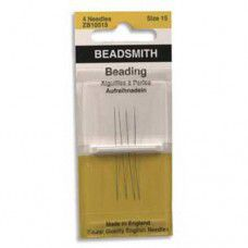 Size 15 John James Beading Needles - pack of 4