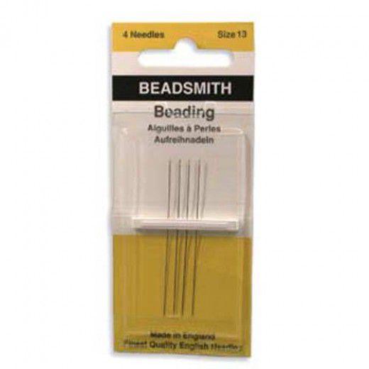 Size 13 John James Beading Needles - pack of 4