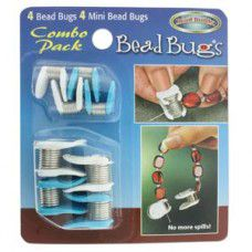 Bead Bug Combo Pack. Prevent your beads from falling off stringing cords whilst ...