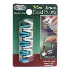 Bead Bug Mini Pack. Prevent your beads from falling off stringing cords whilst t...