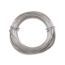 Silver colour Aluminium Wire 18ga (1.2mm)  39ft