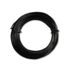 Black Aluminium Wire 18ga (1.2mm)  39ft