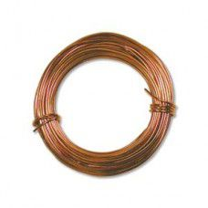 Copper colour Aluminium Wire 18ga (1.2mm)  39ft